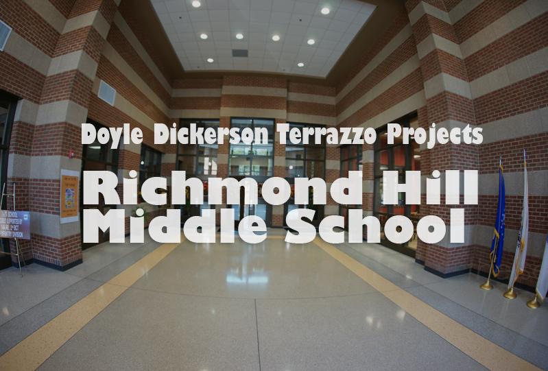 Doyle Dickerson Terrazzo - Richmond Hill Middle School