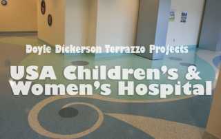 Doyle Dickerson Terrazzo - USA Children's and Women's Hospital