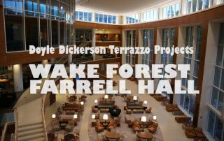 Doyle Dickerson Terrazzo - Wake Forest University