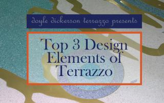 Top 3 Design Elements of Terrazzo