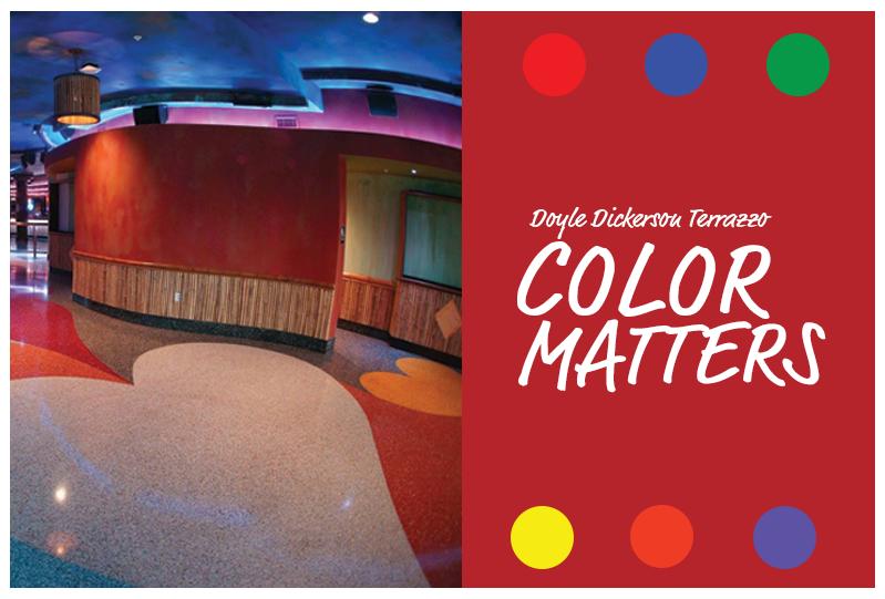 Terrazzo Color Matters