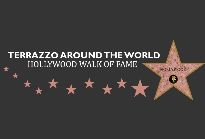 Terrazzo Around the World Hollywood Walk of Fame