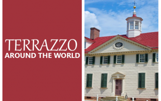 Terrazzo Around the World Mt. Vernon
