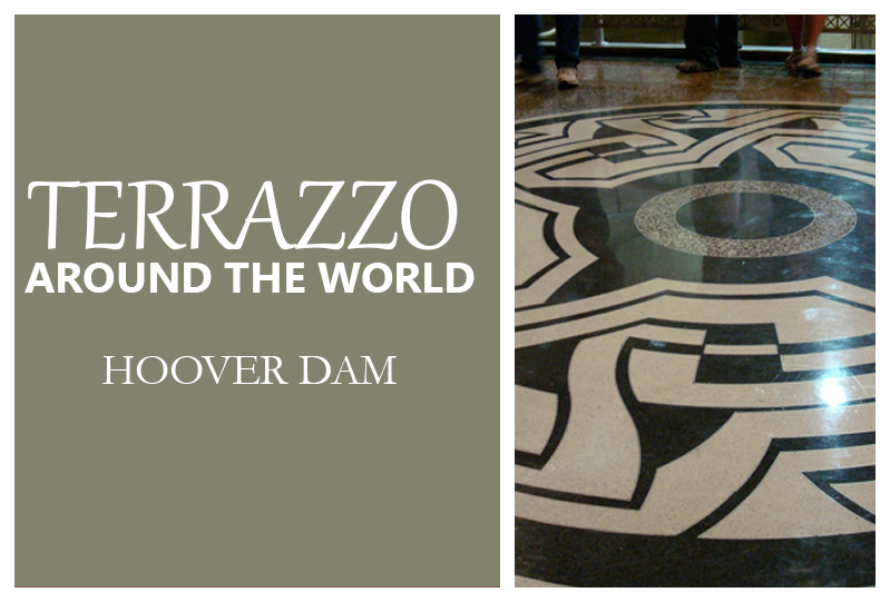 Terrazzo Around The World Hoover Dam Doyle Dickerson