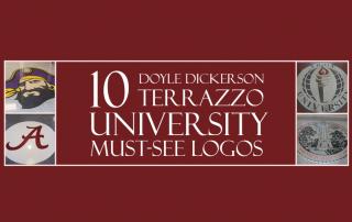 10 University Terrazzo Logos You Should See