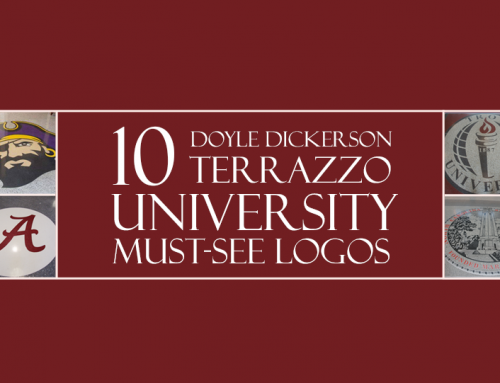 10 University Terrazzo Logos You Should See