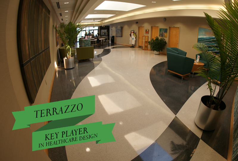 Terrazzo Key Player in Healthcare Design