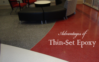 Advantages of Thin-Set Epoxy