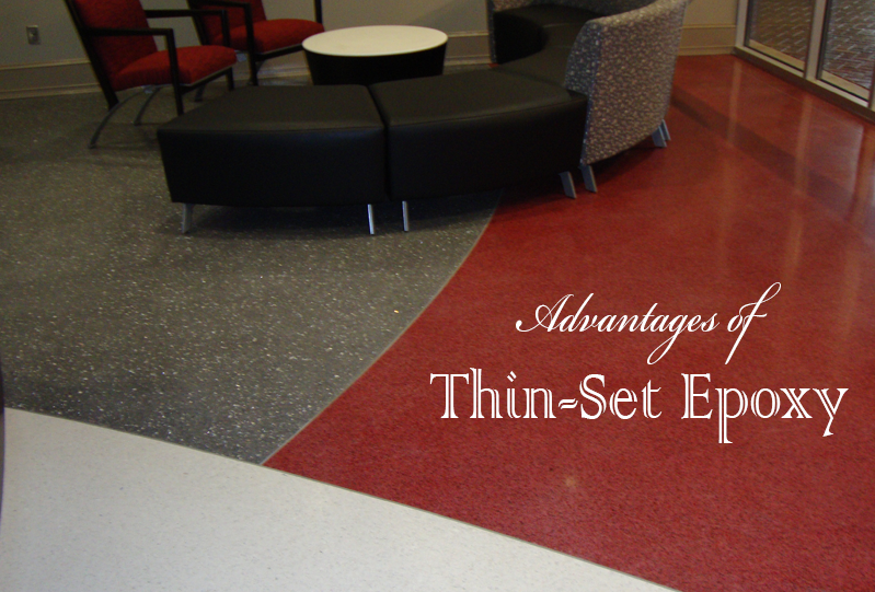 Advantages Of Thin Set Epoxy Doyle Dickerson Terrazzo
