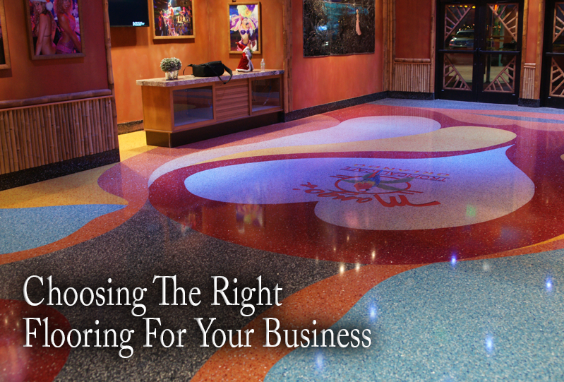 Choosing the right flooring for your business doyle for Right flooring