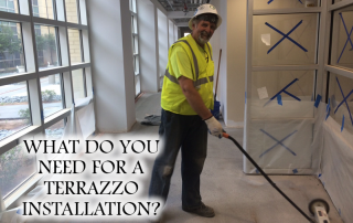 What Do You Need For A Terrazzo Installation