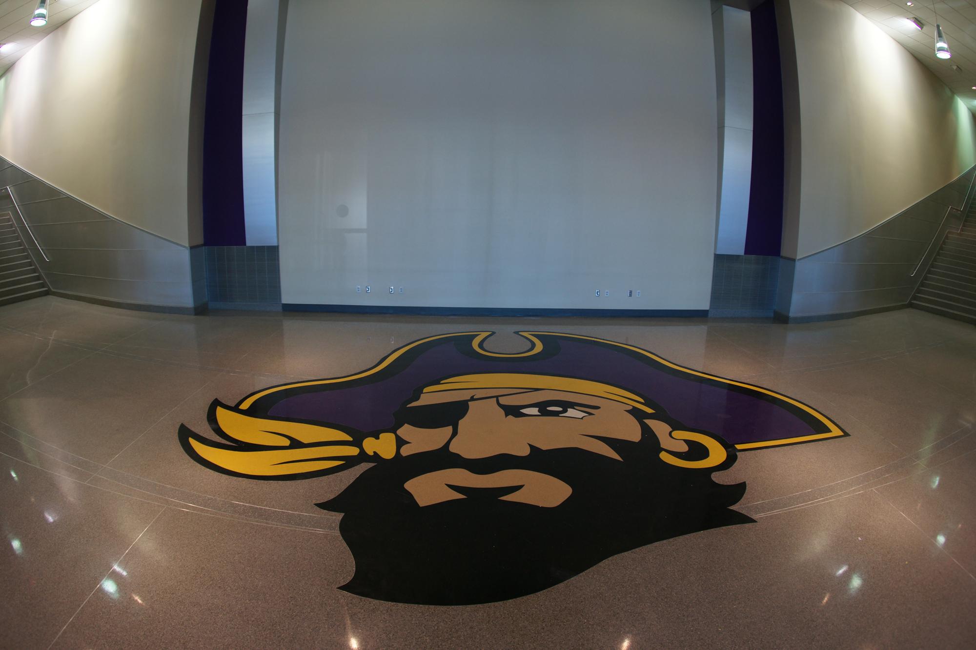 ECU Pirate Terrazzo Logo