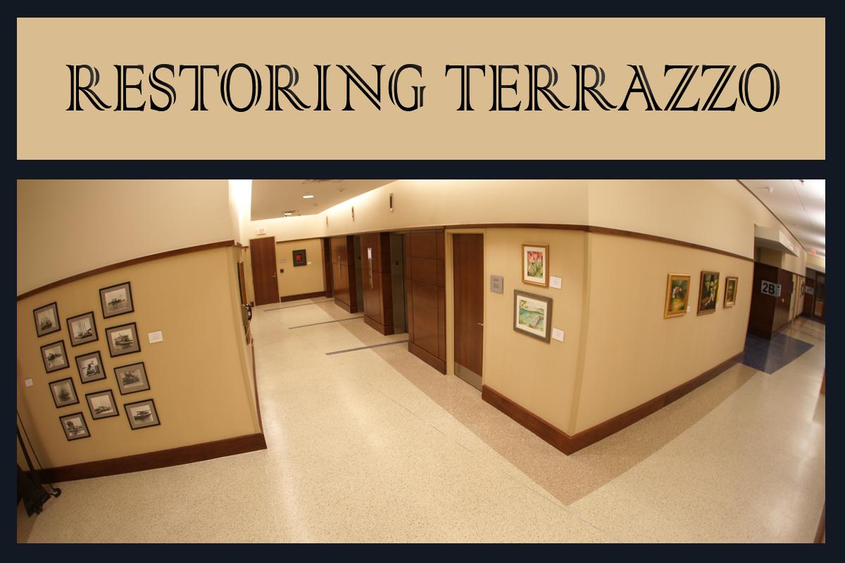 Restoring Terrazzo Floors Doyle Dickerson Terrazzo