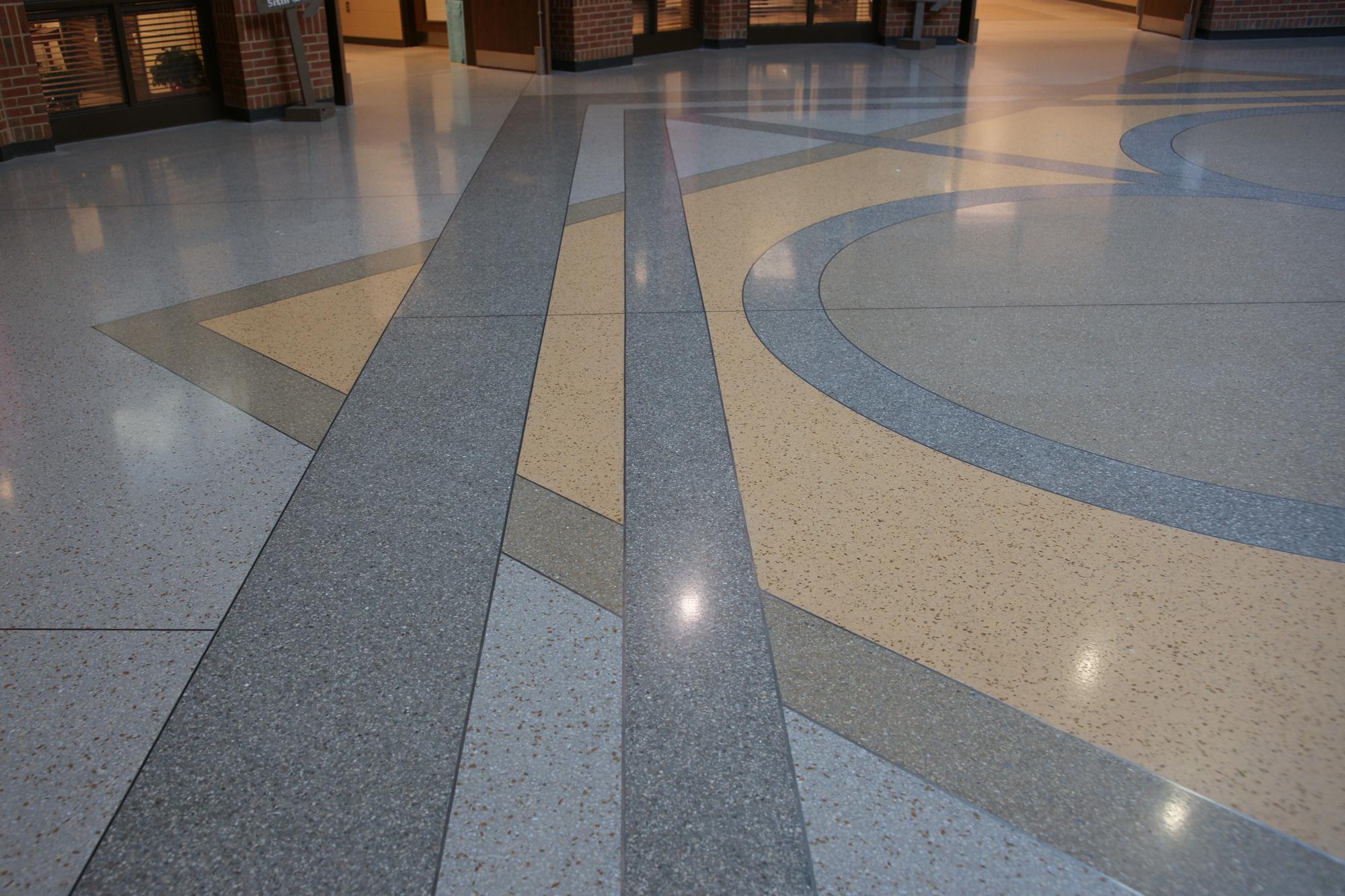Terrazzo Floor Strip Geometry