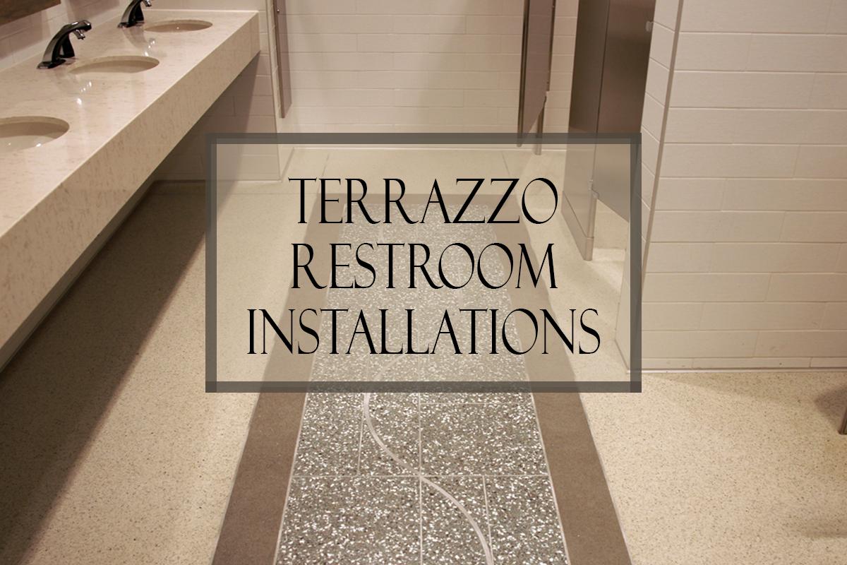Terrazzo Restroom Installations
