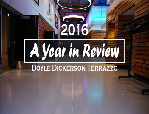 Doyle Dickerson Terrazzo: Year in Review