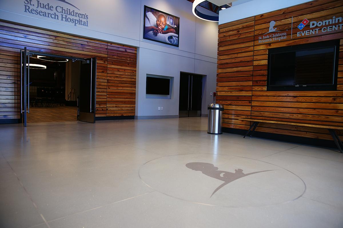St. Jude Children's Research Hospital Terrazzo Flooring