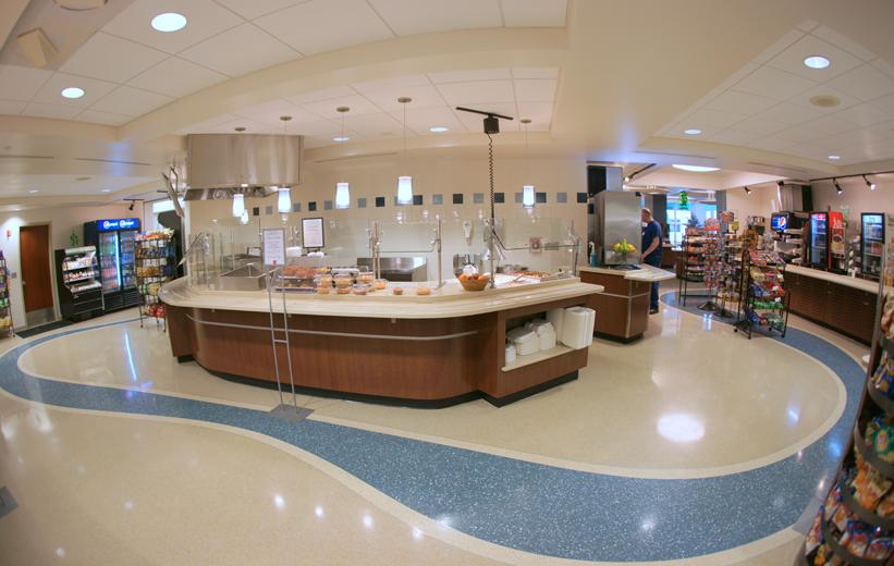Alamance Regional Medical Center Terrazzo Flooring
