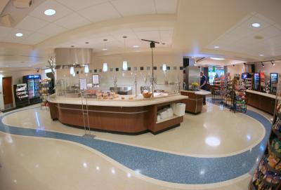 Alamance Medical Center Epoxy Terrazzo Flooring Installation
