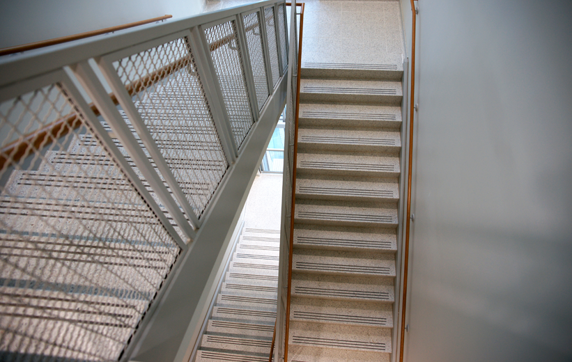 Precast Terrazzo Treads and Risers Stairs and tile