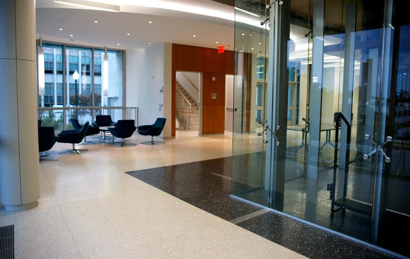 American University McKinley Building Terrazzo Flooring