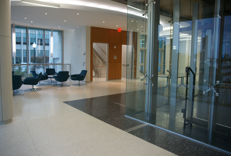 American University Terrazzo Flooring Installation