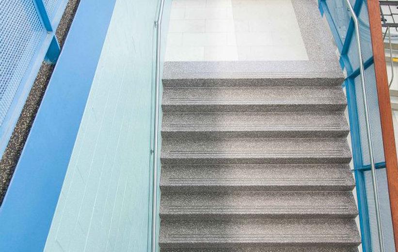 Doyle Dickerson Terrazzo | Precast Terrazzo Stair Treads