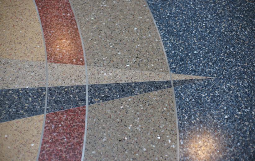Terrazzo Flooring Details