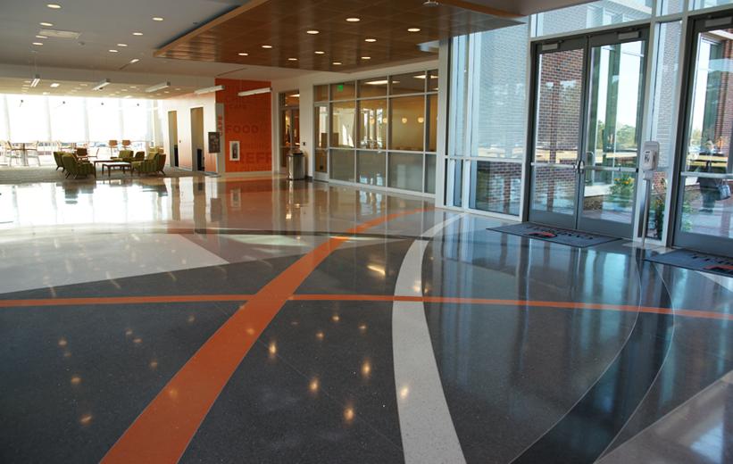 Campbell University Terrazzo Flooring Installation
