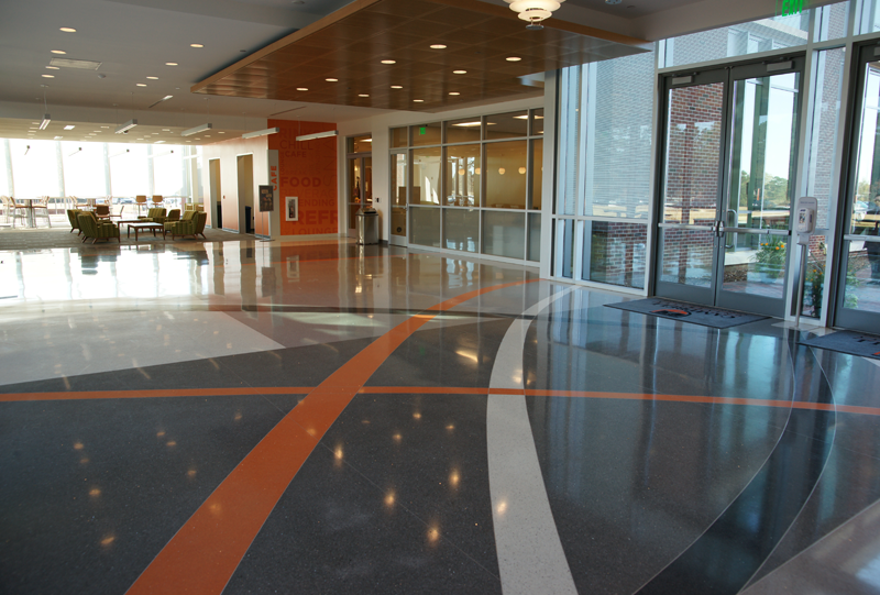 Campbell University Terrazzo Flooring Installation