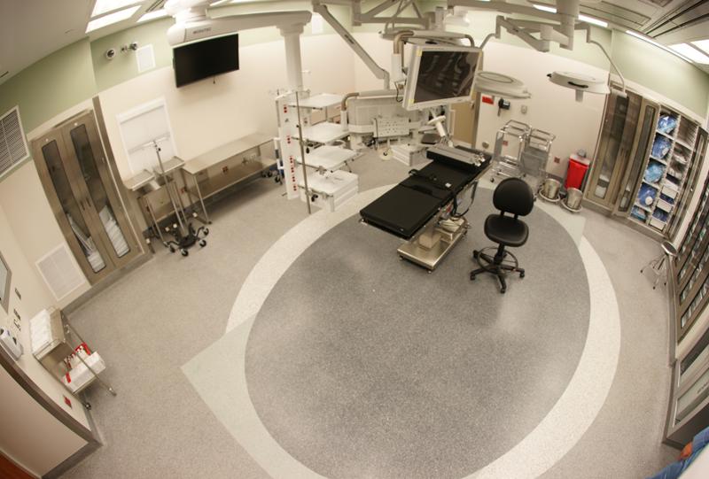 Carolinas Medical Center Terrazzo Flooring Installation