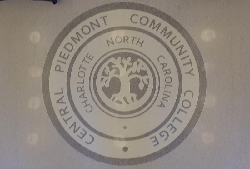 Central Piedmont Community College Terrazzo Floor Logo