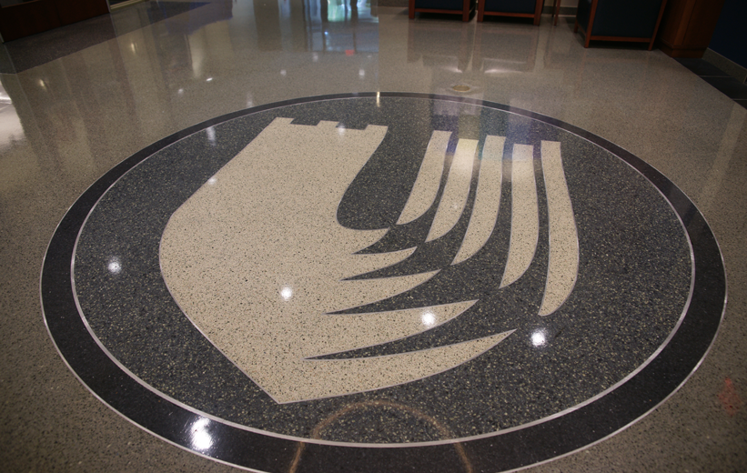 Duke School of Nursing Terrazzo Flooring Logo