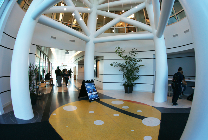 Embry Riddle Aeronautical University Terrazzo Flooring Installation