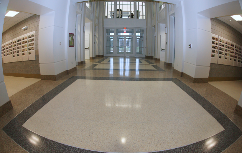 Epoxy Terrazzo Flooring Episcopal High School