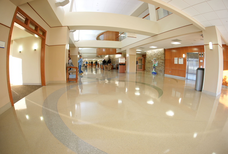 Forsyth Medical Center Terrazzo Flooring Installation