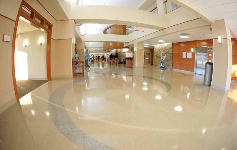 Forsyth Medical Center Terrazzo Flooring