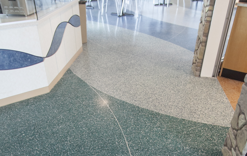 Fort Myers Beach Public Library Doyle Dickerson Terrazzo