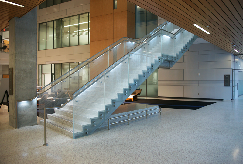 Georgia State University Terrazzo Flooring and Stair Installation