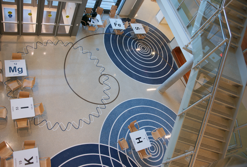 Doyle Dickerson Terrazzo Projects: George Mason University Epoxy Terrazzo Flooring Installation