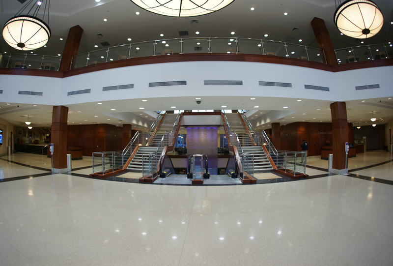 High Point University Terrazzo Flooring Installation