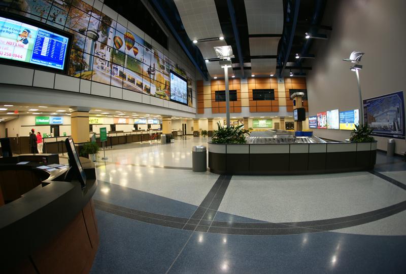 Huntsville International Airport Terrazzo Flooring