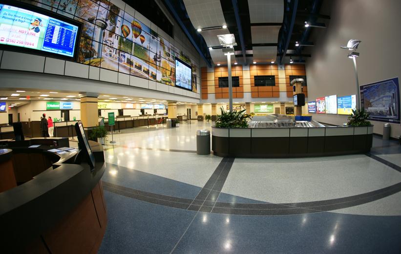 Huntsville International Airport Terrazzo Floor Design