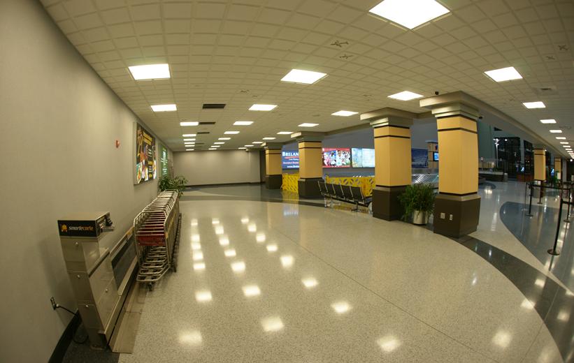 Airport Design with epoxy terrazzo | Doyle Dickerson Terrazzo