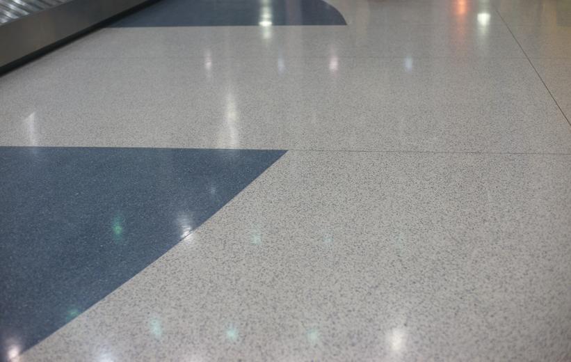 Terrazzo Flooring Airport | Doyle Dickerson Terrazzo