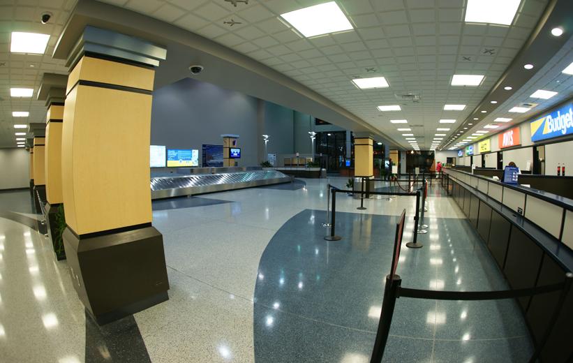 airport architect with terrazzo | Doyle Dickerson Terrazzo
