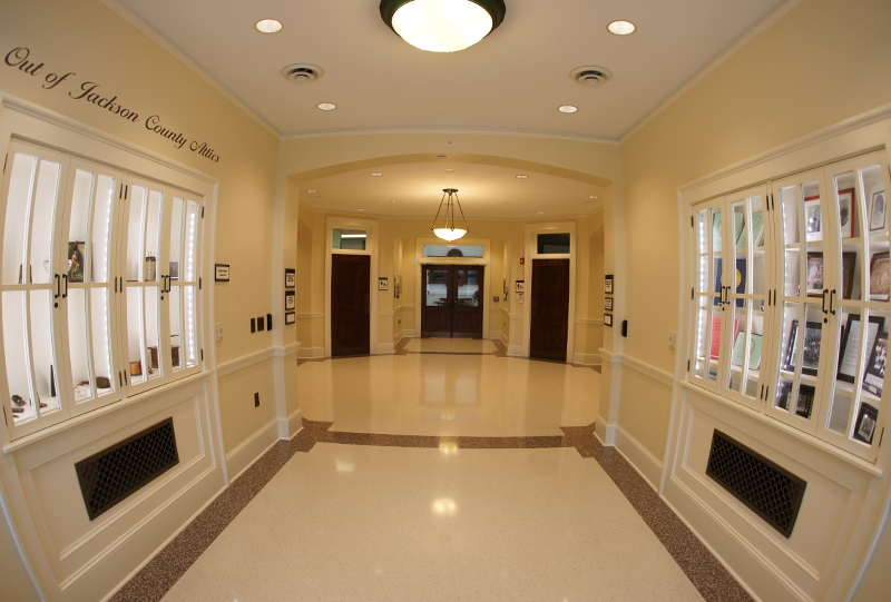 Jackson County Courthouse - Terrazzo Flooring Finish