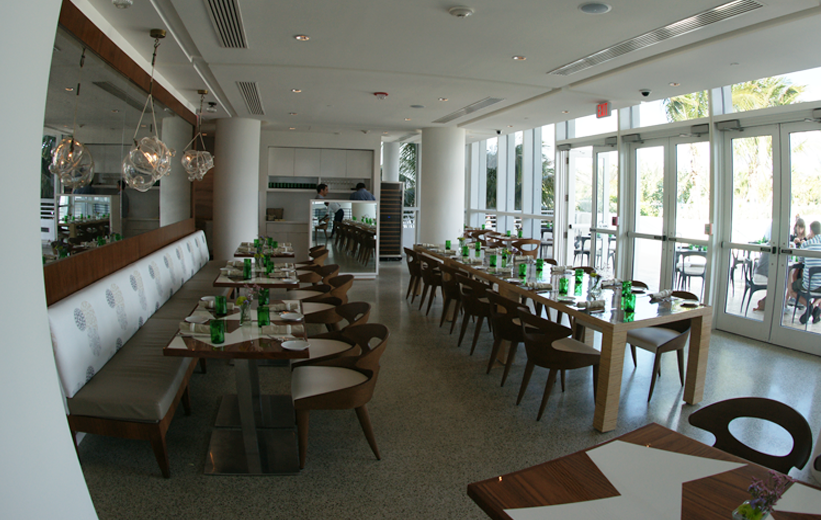 James Royal Palms Hotel with fine dining, covered with epoxy terrazzo