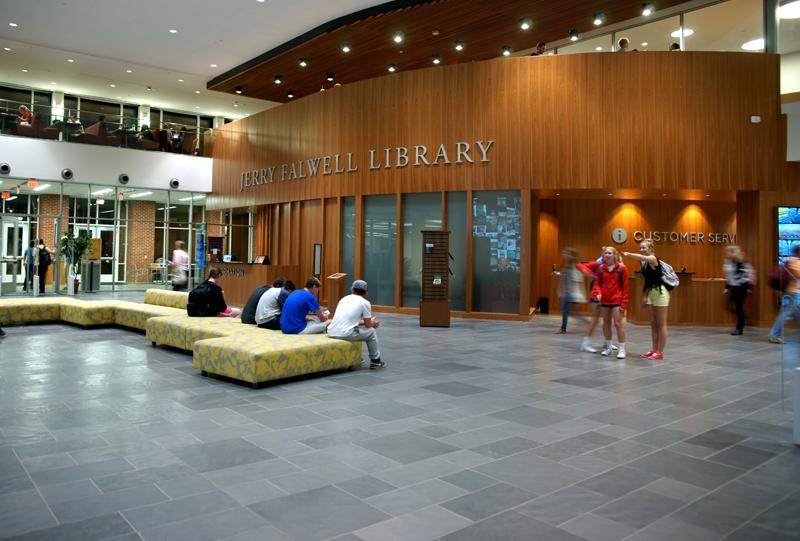 Jerry Falwell Library Liberty University