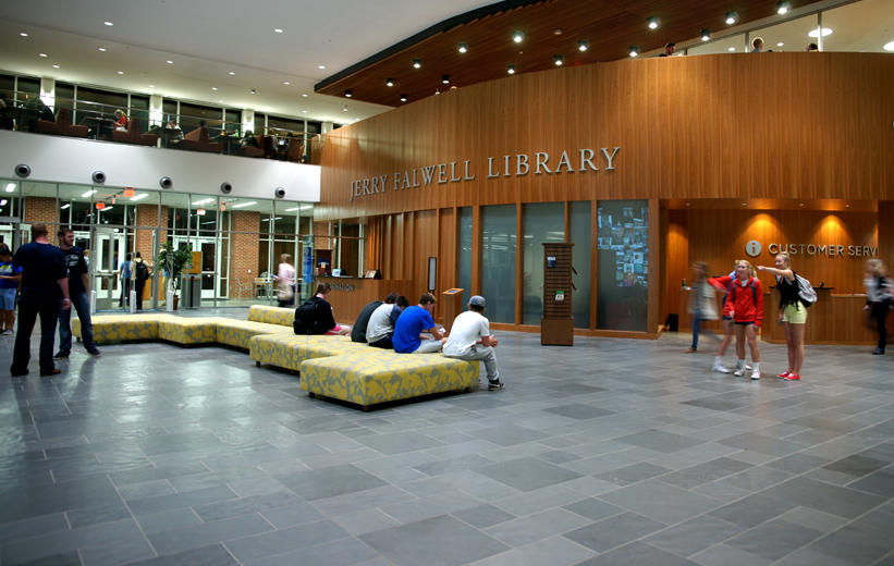 Community Building: Jerry Falwell Library